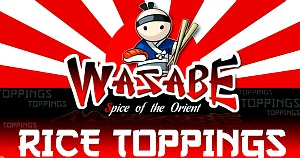 Wasabe Rice Toppings